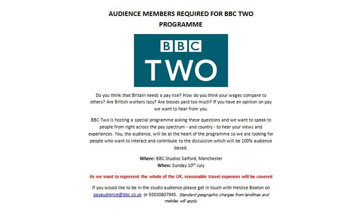 BBC TWO Audience