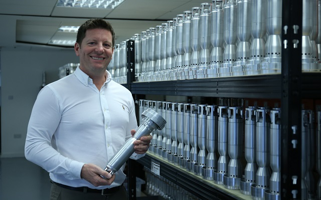 Ryan Wholey, CEO from Blackpool-based TISS Ltd have won their second Queen's Award for Enterprise.