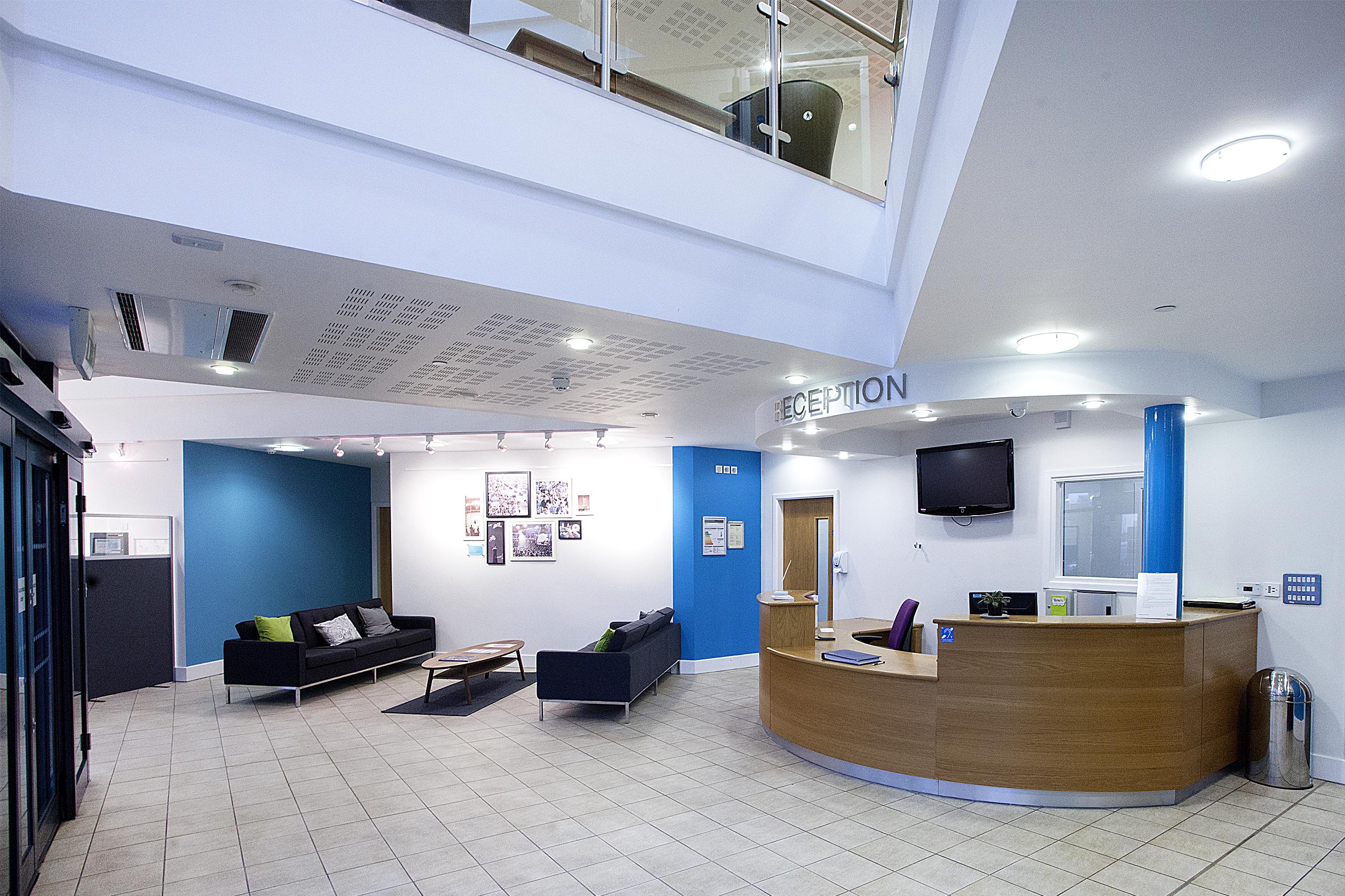 Enterprise Centre Reception