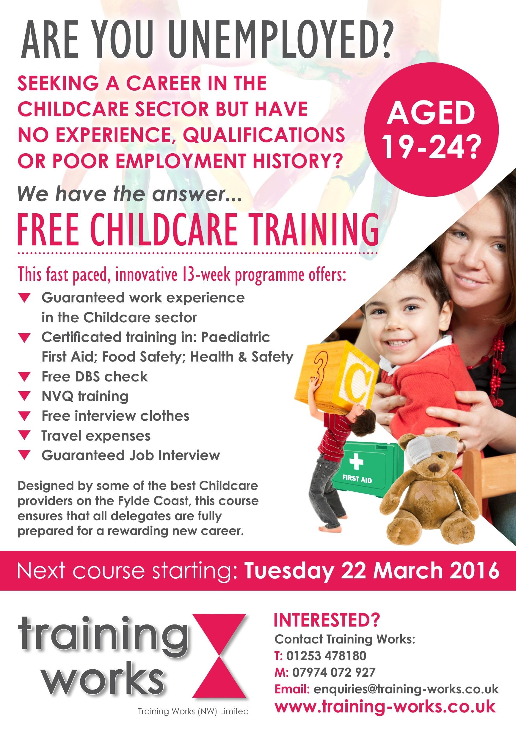 Training Works Childcare Training