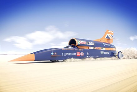 Bloodhound Super Sonic Car, an amazing feat of engineering and innovation required not just commitment and funding, but access to a wealth of specialist knowledge and expertise from a whole range of organisations, sponsors and suppliers, all of whom contribute towards addressing the challenge.