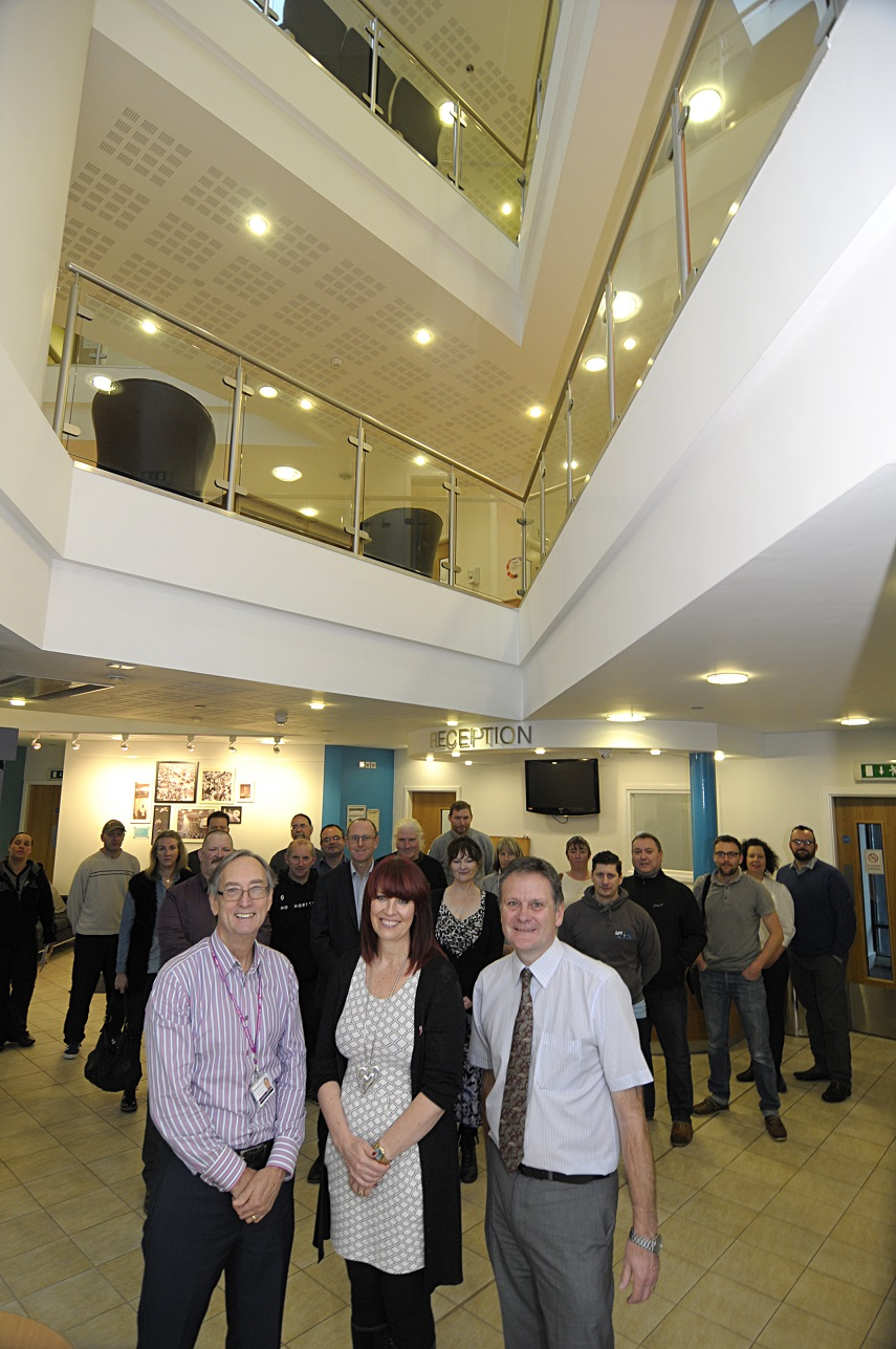 The Business Support team hosting GEW at the Enterprise Centre
