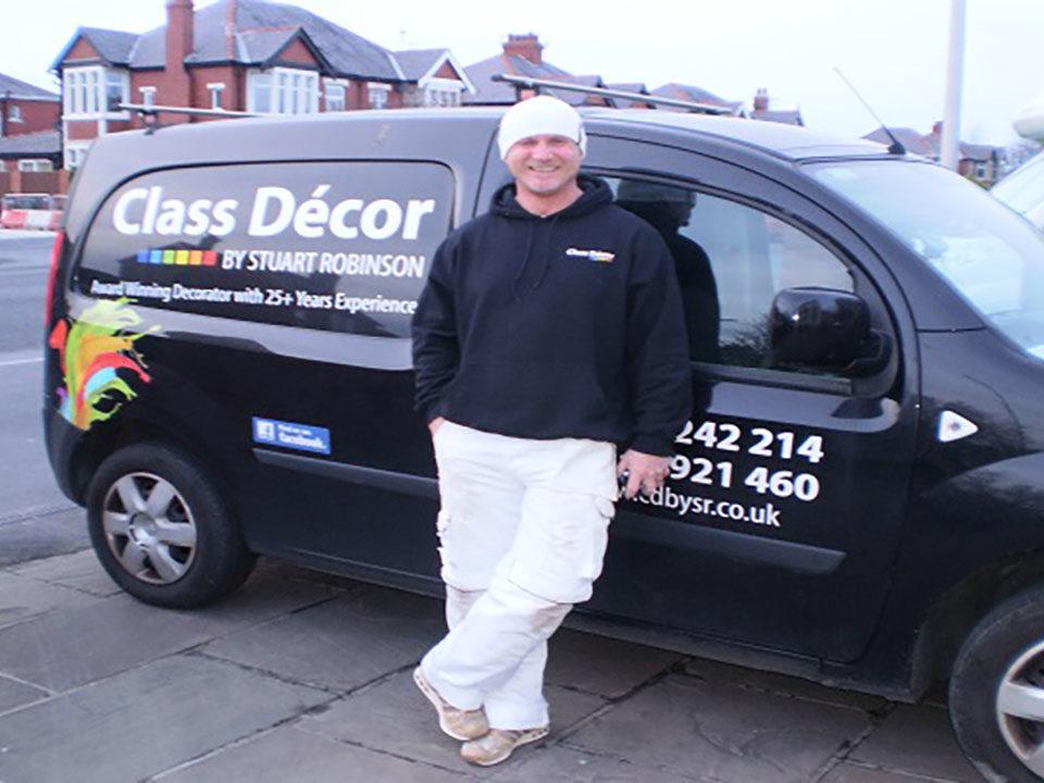 Class Decor Van