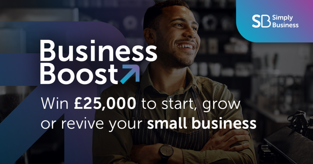 Business Boost Grant for £25,000