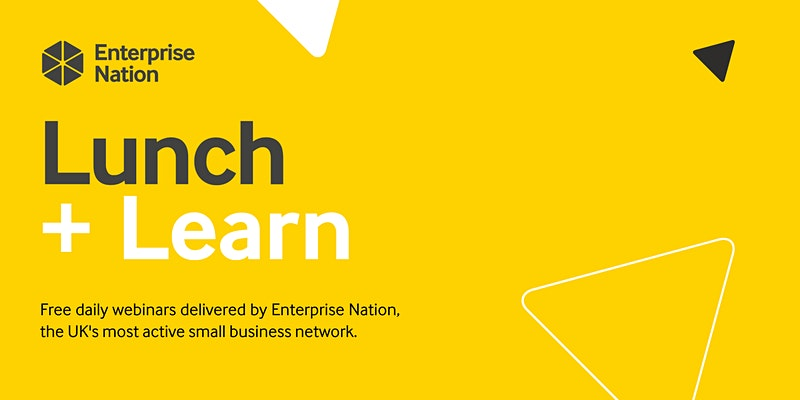 Lunch and learn Enterprise Nation logo